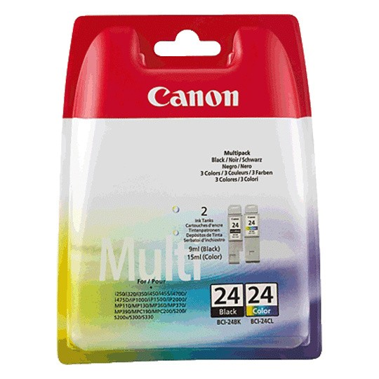 Canon BCI-24 (6881A064) Multipack OEM