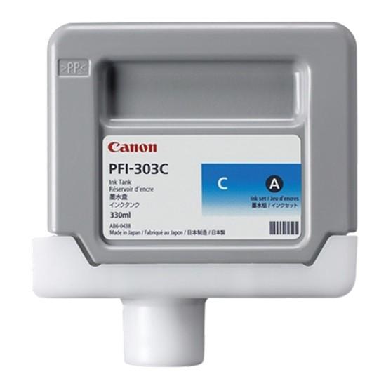 44517_Original_Canon_Tinte_Patrone_PFI-303C_für_imagePROGRAF_IPF_810_815_820_Blister
