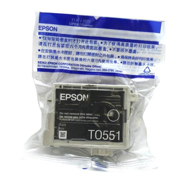 Epson T0551 (C13T05514010) BK OEM Blister
