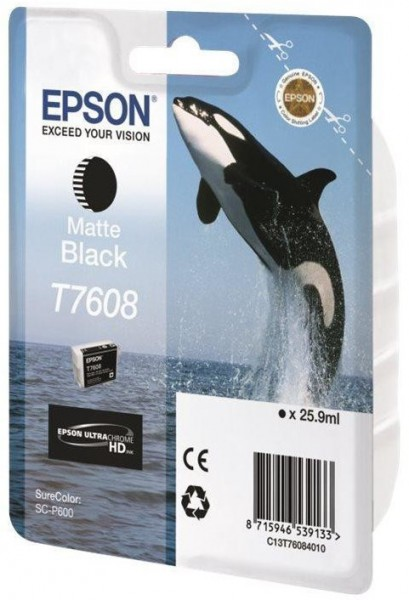 Epson T7608 (C13T76084010) BK Matt OEM