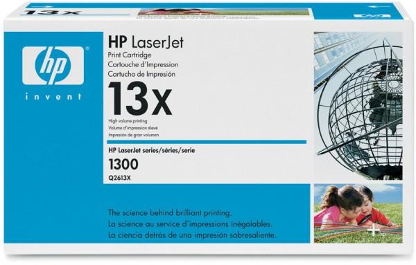 Original HP Toner Q2613X schwarz für Laserjet 1300 N T XI B-Ware