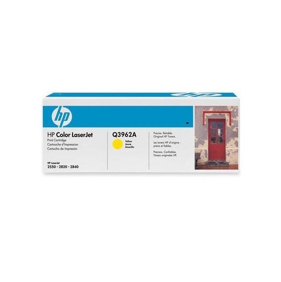 Original HP Toner 122A Q3962A gelb für Color Laserjet 2840 2550 2820