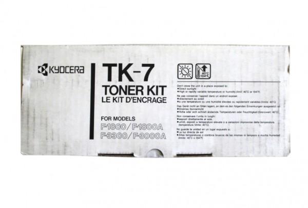 Original Kyocera Toner TK-7 schwarz für F 1800 3300