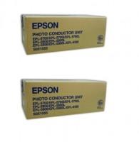 2x Original Epson Trommel C13S051055 schwarz für EPL 5500 5700 5800