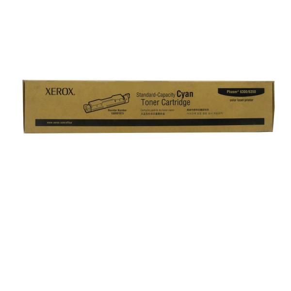 Original Xerox Toner 106R01073 cyan für Phaser 6300 6350