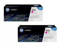 2x Original HP Toner 122A Q3963A Color LaserJet 2550 2820 2840 Neutrale Schachtel