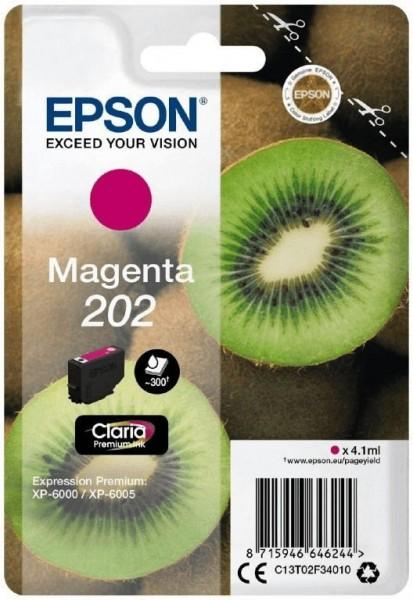 Original Epson Tinte 202 magenta für Expression Premium XP 6000 6005 6100 6105