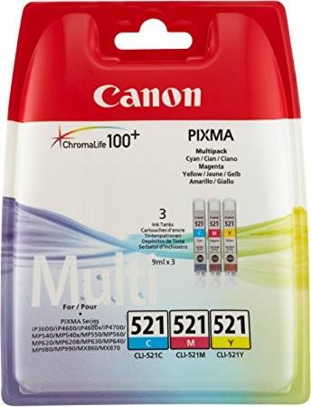 Canon CLI-521 Multipack COL (2934B007) OEM