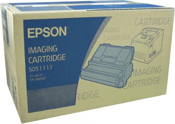 Original Epson Toner C13S051111 schwarz für EPL N 3000 Neutrale Schachtel