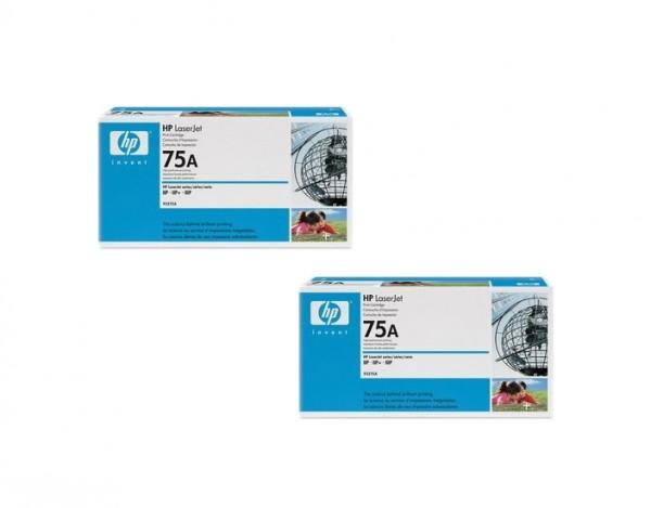 2x Original HP Toner 75A 92275A für LaserJet Serien 2P 3P IIP IIIP B-Ware