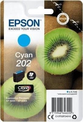 Original Epson Tinte 202 cyan für Expression Premium XP 6000 6005 6100 6105