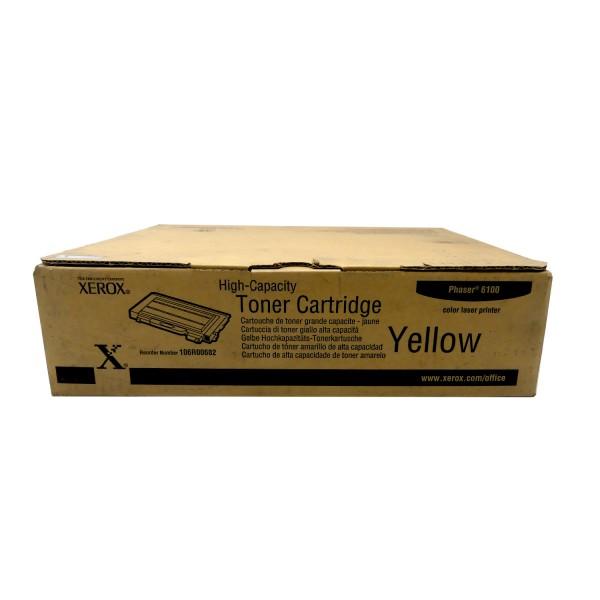 Original Xerox Toner 106R00682 gelb für Phaser 6100
