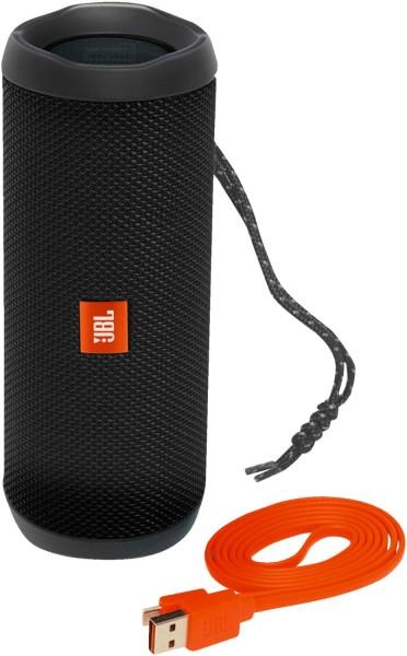 JBL Flip 4 - Bluetooth Lautsprecher - schwarz