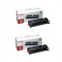 2x Original Canon Toner 9285A003 CRG701 magenta für LBP-5200 MF-8180C B-Ware