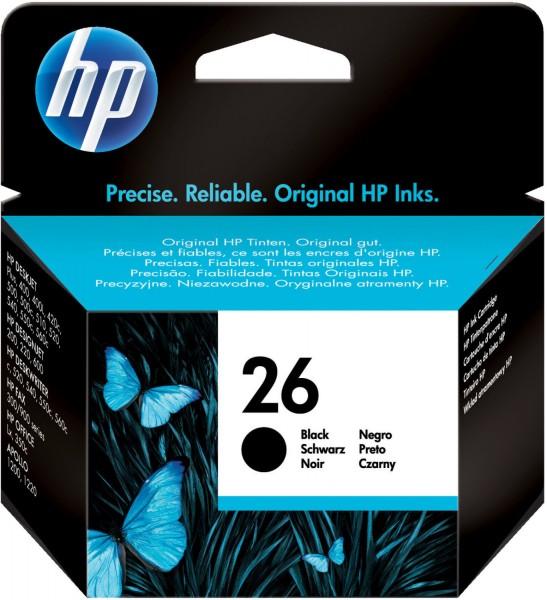 29940_Original_HP_Tinte_Patrone_26_für_Deskjet_400_420_500_505_510_520_540_AG