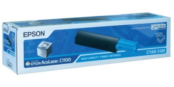 Original Epson Toner S050189 cyan für Aculaser C 1100 CX 11