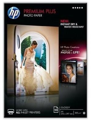 HP Premium Plus Photo Paper (CR675A) - Fotopapier, glänzend - A3 (297 x 420 mm) - 300 g/m2 - 20 Blat