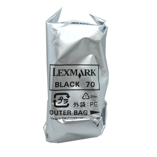 Lexmark 70 BK (12A970/12AX970E) OEM Blister