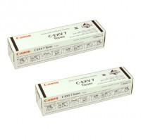2x Original Canon Toner 7814A002 C-EXV 7 für iR1210 1230 1270F 1570F
