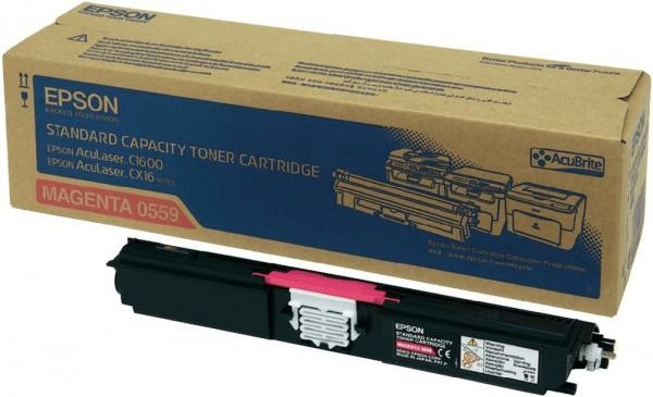 Original Epson Toner C13S050559 magenta für AcuLaser C1600 CX16 B-Ware
