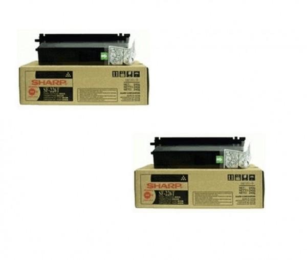 2x Original Sharp Toner SF-226T black für SF 2216 2220 2320