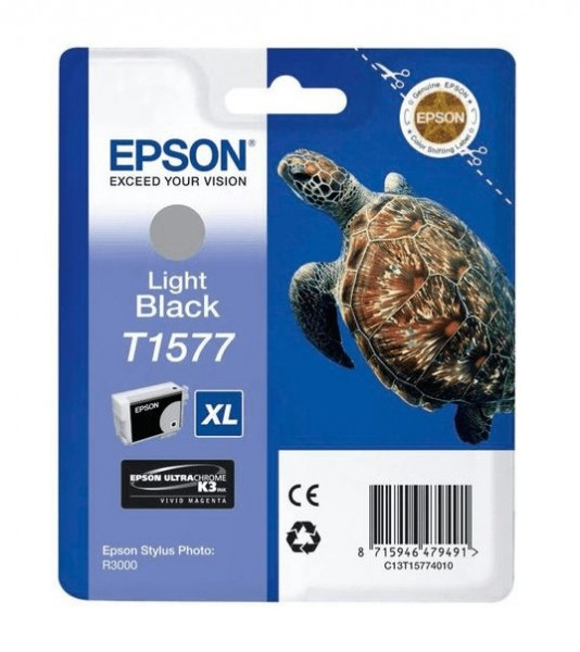 Epson T1577 XL LBK (C13T15774010) OEM