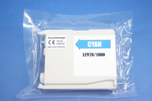 Brother LC 970/1000 CY Reman