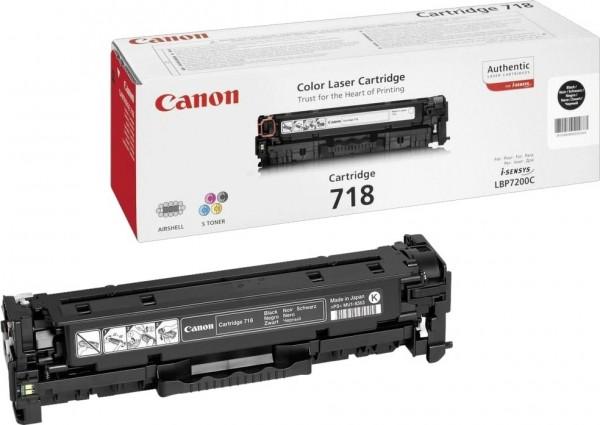 Original Canon Toner 2662B002 CRG-718BK I-Sensys MF 8350 8360 Neutrale Schachtel
