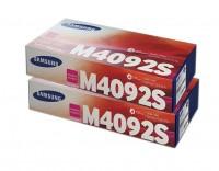 2x Original Samsung Toner CLT-M4092S CLP-310 CLP-315 CLX-3170FN Neutrale Schachtel