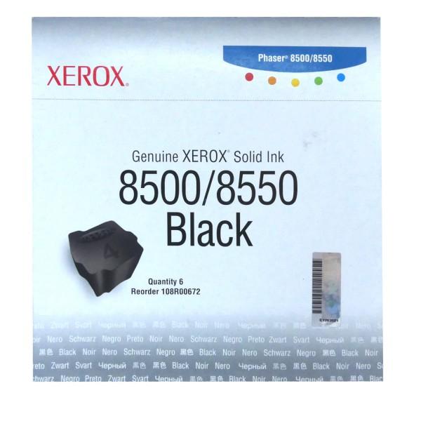 Original Xerox Tinte 108R00672 schwarz für Phaser 8500 8550