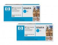 2x Original HP Toner 311A Q2681A cyan für Laserjet 3700 3700N 3700DN B-Ware