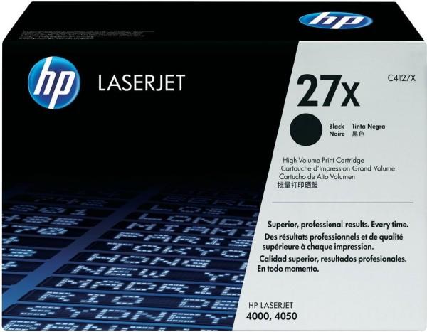Original HP Toner 27X C4127X LaserJet LJ4000 4000se 4000n Neutrale Schachtel