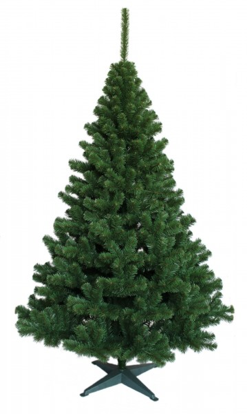Weihnachtsbaum Grün Tanne (Größe: 200 cm)