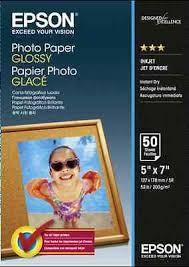 Original Epson Fotopapier (C13S042545) glänzend 13x18cm 50 Blatt 200g