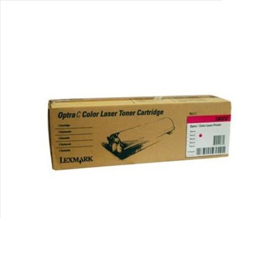 Original Lexmark Toner 1361212 magenta für Optra C Serie B-Ware