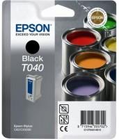Epson T040 BK (C13T04014010) OEM