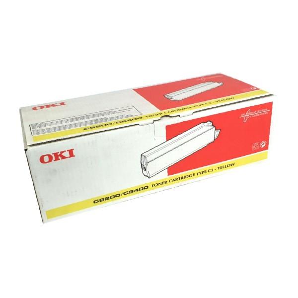 Original OKI Toner 41515209 gelb für C9000 C9200 C9400 Neutrale Schachtel