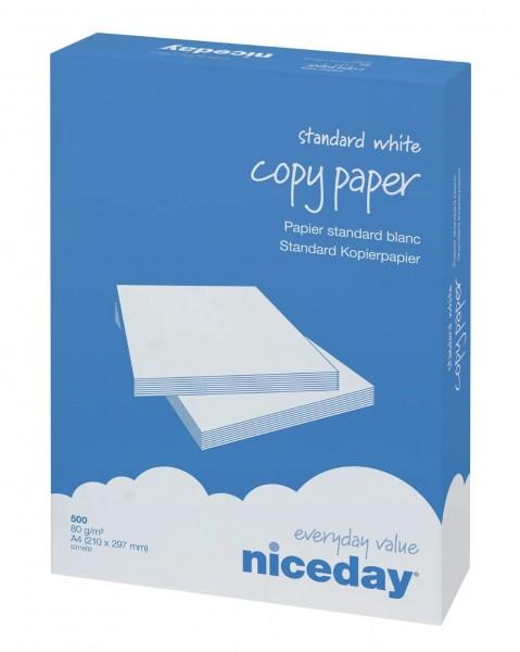 Niceday Kopierpapier A4 80g 500 Blatt weiß