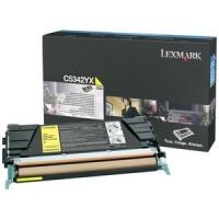 Original Lexmark Toner C5342YX gelb für Optra C 534 / C 534 Neutrale Schachtel