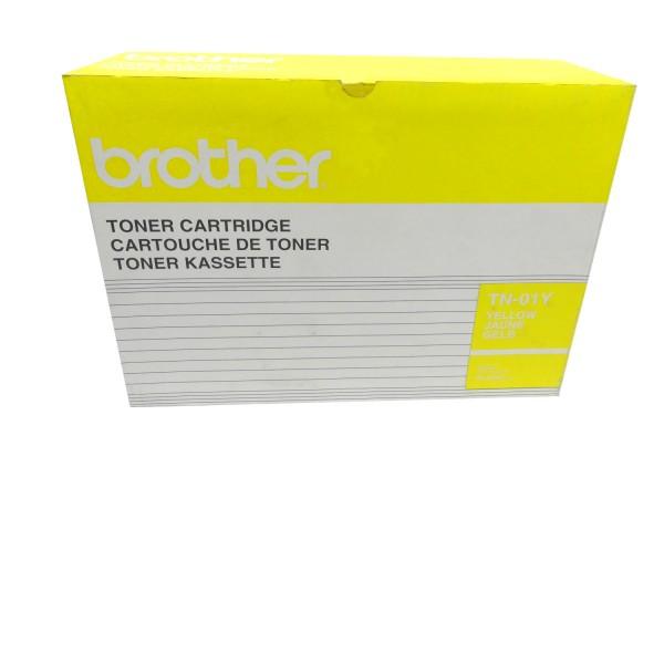 Original Brother Toner TN-01Y gelb für HL 2400C 2400Ce