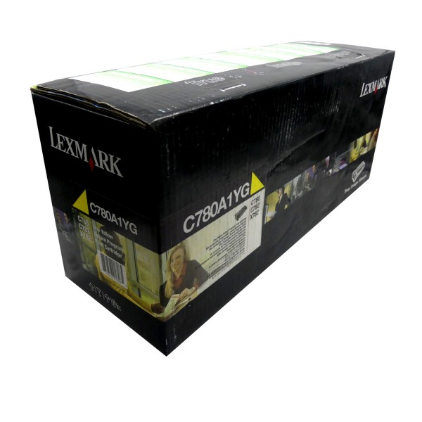 Original Lexmark Toner C780A1YG gelb für C 780 782 X 782 B-Ware
