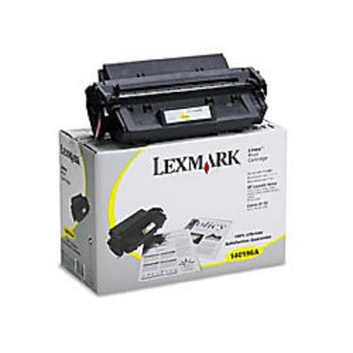 Original Lexmark Toner 140196A schwarz für HP LaserJet 2100 2200 B-Ware