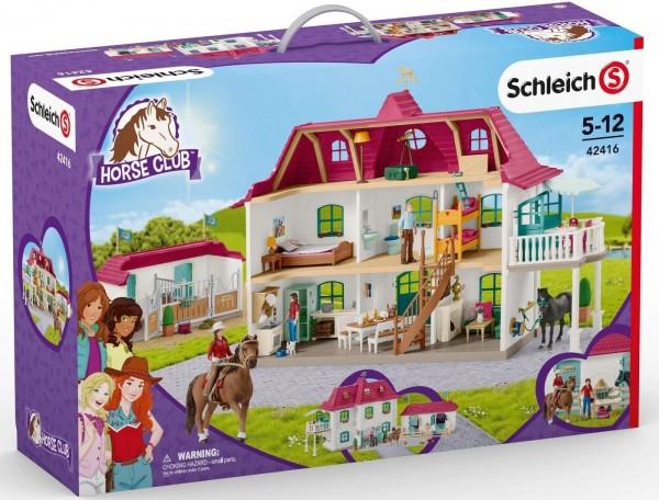 Schleich - Pferdehaus mit Wohnhaus - Spielfigur 42416
