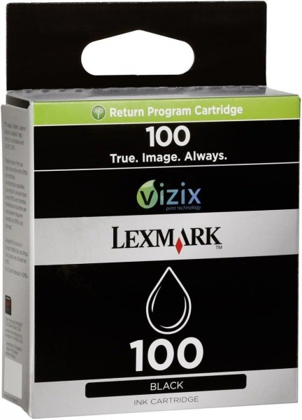 Lexmark 100 BK (14N0820E) OEM