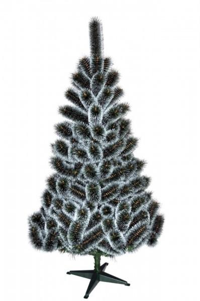 Weihnachtsbaum leuchtend Grün/Weiß Kiefer (Größe: 100 cm)