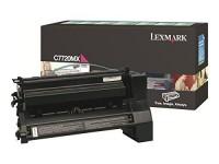 Original Lexmark Toner C7720MX magenta für C 772 X 772 B-Ware