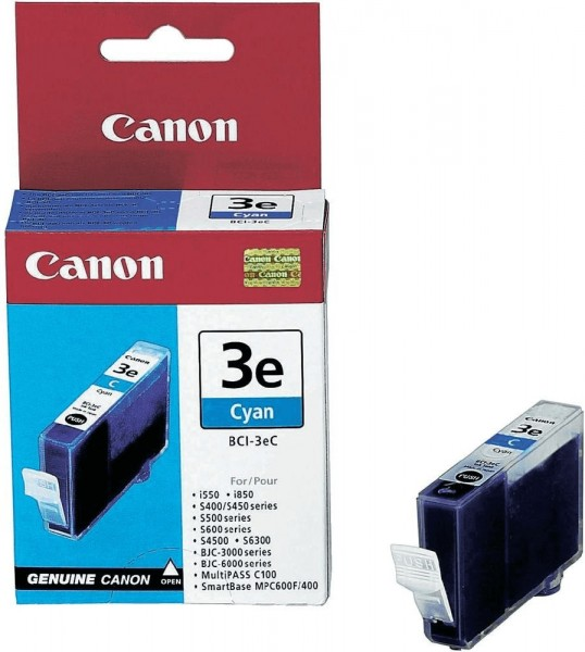 Canon BCI-3e CY (4480A002/4480A257) OEM