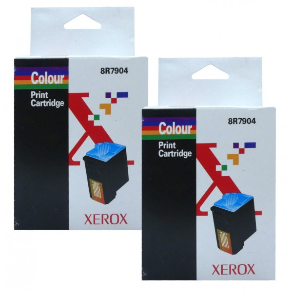 44903_2x_Original_Xerox_Tinte_8R7904_farbig_für_DocuPrint_C11_C15_WorkCentre_Xi