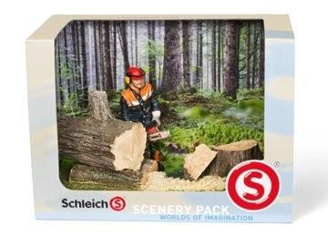 Schleich - Scenery Pack Waldarbeit - Spielfigur 41806