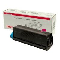 Original OKI Toner 42127406 magenta für C5100N C5200N C5300N C5400DN